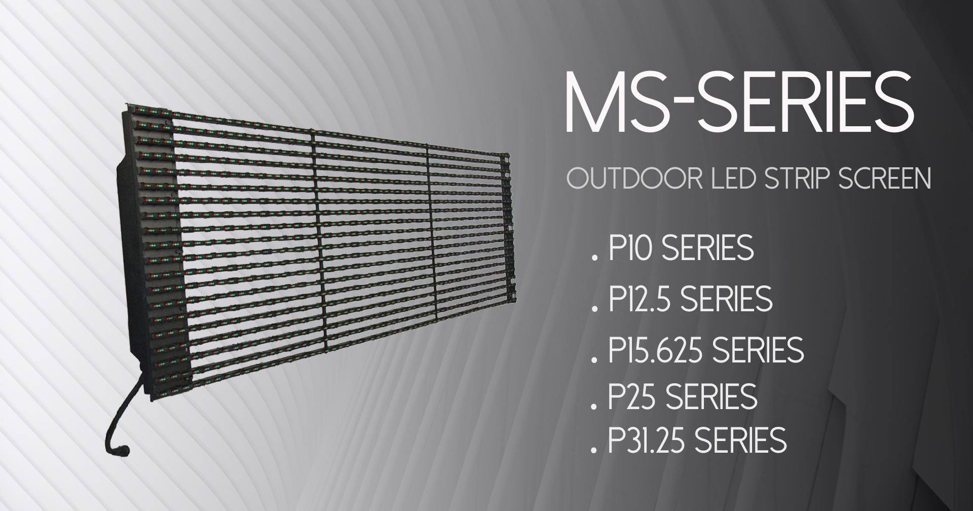 Maxtop MS Series Strip LED Screen